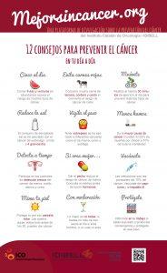 10 consejos para prevenir el cáncer en tu día a día