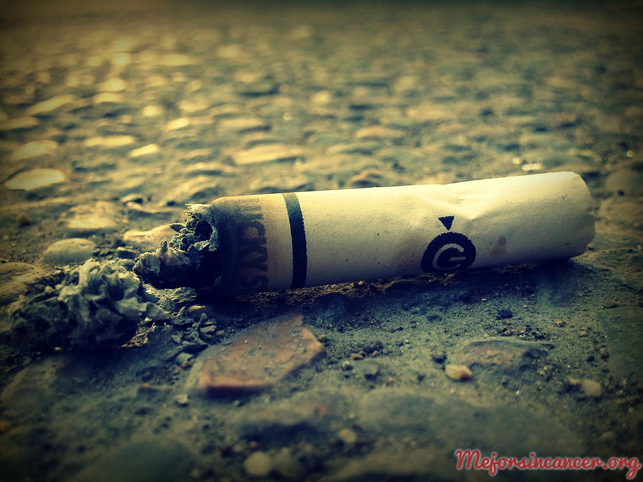 dejar de fumar y cáncer