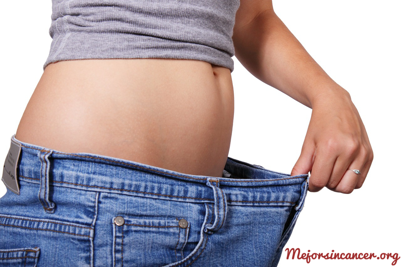 mejor sin cancer perder peso