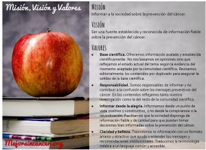 mision vision valores mejor sin cancer